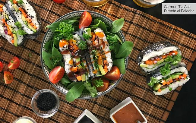 Cómo hacer onigirazu, el sandwich de sushi japonés más divertido (receta con vídeo incluido)