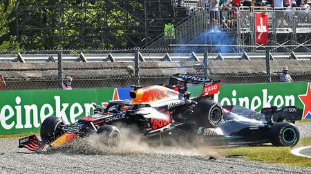 Verstappen Hamilton Italia F1 2021 2