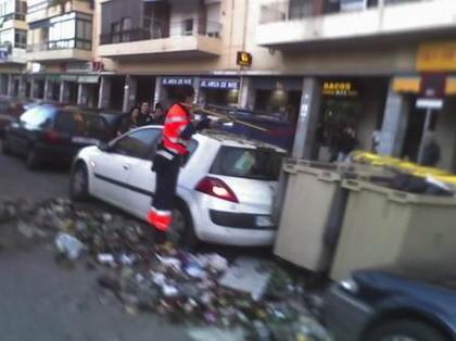 Dejar el coche en la calle