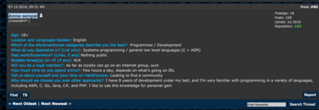 Anna Senpai Intro On Hackforums