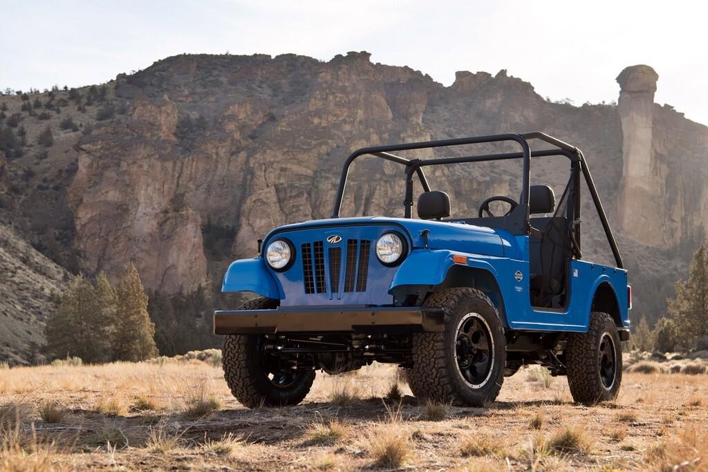 Malas noticias para Grupo FCA: Mahindra Roxor, el rival del Jeep Wrangler, podrá fabricarse en Estados Unidos