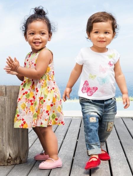 Moda Verano 2014 para bebés y niños: vestir a los niños con muy poco dinero