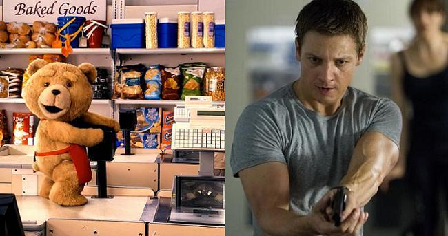 Ted 2 y quinta parte de Bourne