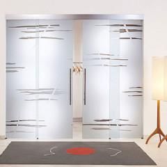 Puertas de cristal decoradas de casali for Puertas de cristal decoradas