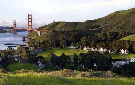 Hotel de lujo con vistas al Golden Gate