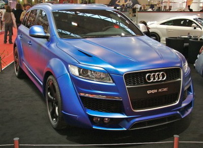 Tendencias 2008 en el Essen Motor Show: colores mate