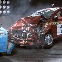 El Mazda2 se estrella en las pruebas de choque Latin NCAP con dos estrellas y el Nissan March se lleva... una