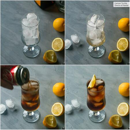 Paso A Paso Long Island Iced Tea