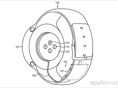 ¿Poca batería? Apple patenta una correa que carga el Apple Watch