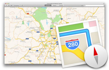 Así son los Mapas de Apple en OS X Mavericks