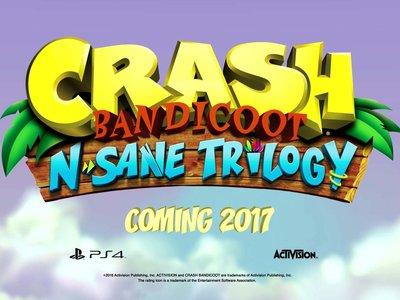 Primer video con las remasterizaciones de Crash Bandicoot
