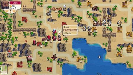 El estratégico Wargroove contará con juego cruzado entre PC, Nintendo Switch y Xbox One