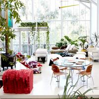 Una casa invernadero bonita hasta decir basta