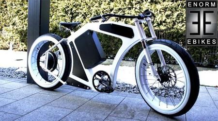 Enorm eBike V3: la moda de las bicicletas chopper eléctricas sigue viva