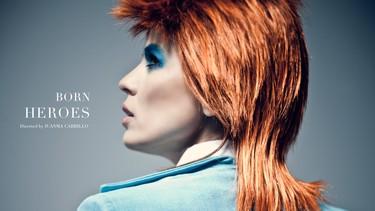 Veo cambiado a Bowie, se parece a Elena Anaya o algo