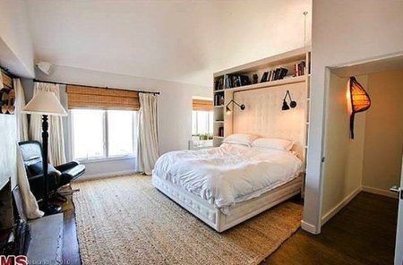 El dormitorio de Charlize Theron.