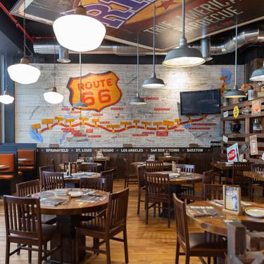 Estilo americano y piezas de anticuario en el nuevo restaurante Ribs en Barcelona