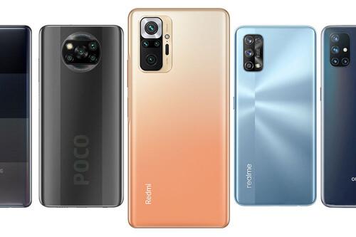 Xiaomi Redmi Note 10 Pro, comparativa: así queda contra el POCO X3, Realme 7 Pro, OnePlus N10, Galaxy A42 y resto de gama media