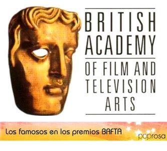 Los famosos en los Premios Bafta con Kristen Stewart como gran sorpresa