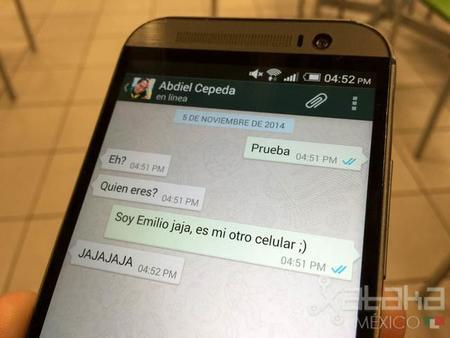 WhatsApp comienza a mostrar marcas en mensajes leídos