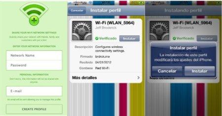 Comparte rápidamente tu conexión Wifi con quickWifi