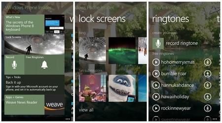 Llega Insider para Windows Phone 8