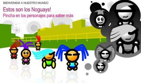Noguays, dibujos animados por la integración y solidaridad