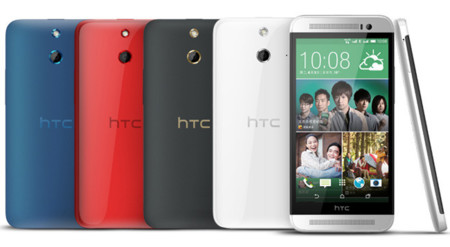 HTC One M8 rosa