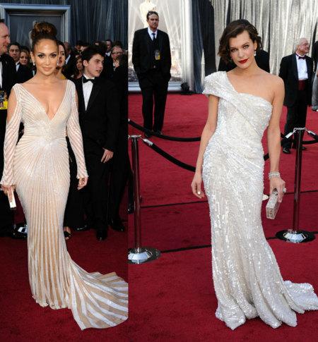 Vestidos brillantes Oscar 2012