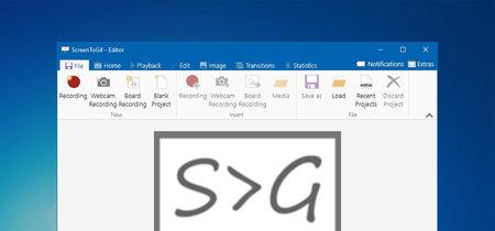 ScreenToGif, una aplicación para crear gifs grabando la pantalla, la webcam o convirtiendo vídeos en Windows