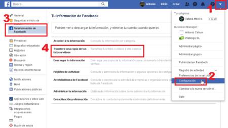 Como Transferir Fotos Videos Facebook Google Data Transfer Project