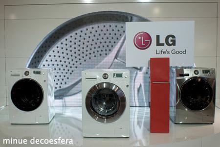 presentación - lavadora-lg gama