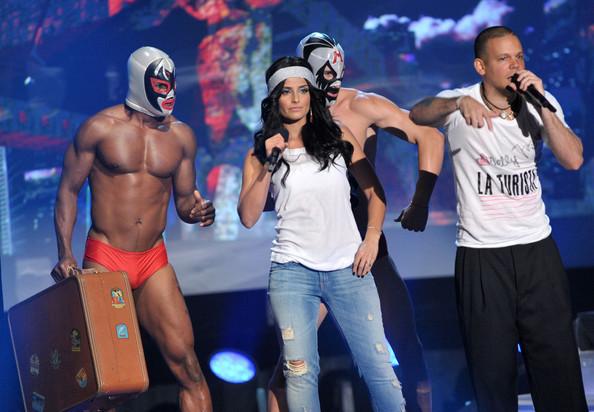 Foto de Famosos en los MTV Latinos 2009 (22/23)