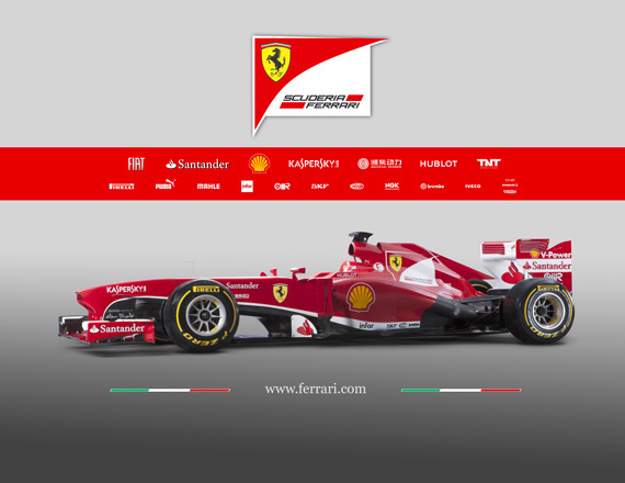 Sesión fotográfica Ferrari F138