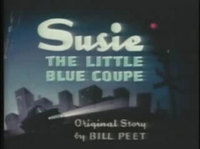 Susie, the Little Blue Coupe: la inspiración de Cars