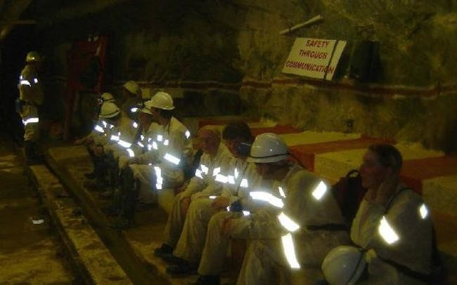¿Qué se extrajo de la mina más profunda del mundo?