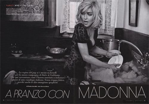 Foto de Madonna para Dolce Gabbana: primeras imágenes de la campaña (1/3)