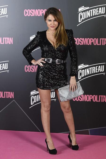 premios cosmopolitan 2017 alfombra roja look estilismo outfit Presentadora Monica Hoyos