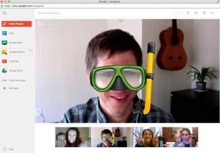Los Hangouts de Google+ estrenan su nuevo (y colorido) look