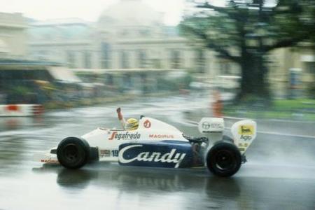 Un regalo de Navidad. Gran Premio de Mónaco de 1984
