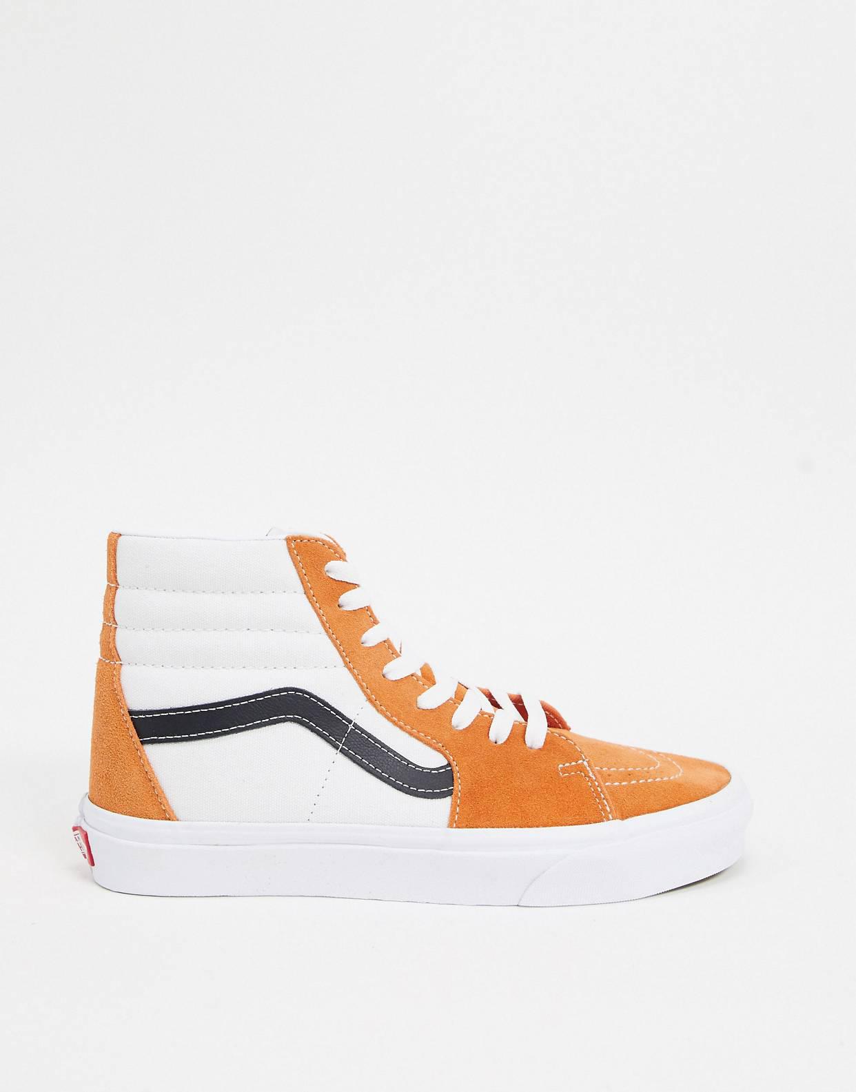 Zapatillas color albaricoque SK8-Hi Retro Sport de Vans