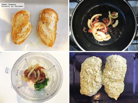Pollo En Salsa De Jamon