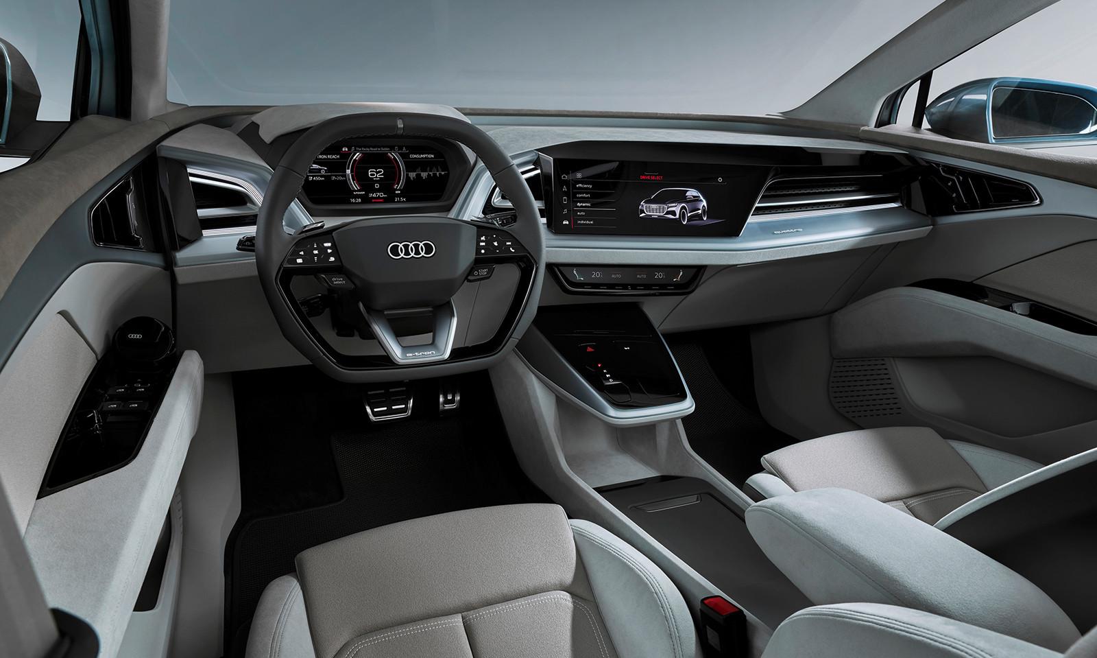 Foto de Audi Q4 e-tron concept (13/19)
