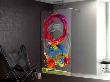 Duscho-Art, más ideas para personalizar tu mampara
