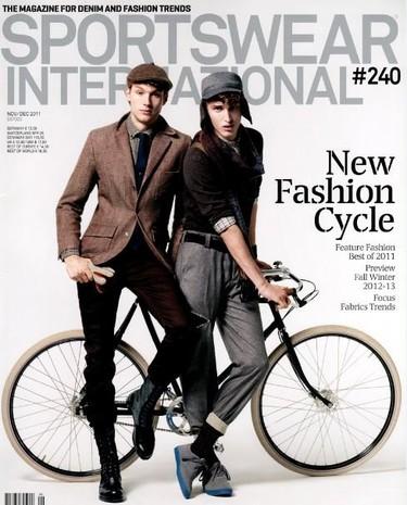 La nuevo portada de Sportswear Internacional una oda al espíritu retro