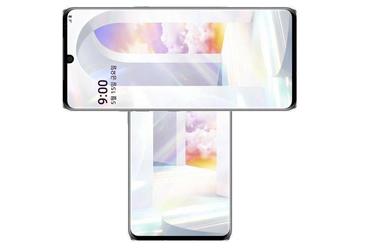"""Un móvil en forma de """"T"""" gracias a una pantalla rotatoria: así de loca es la última filtración de un smartphone LG"""
