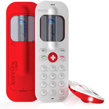 SpareOnePlus, llegan mejoras al teléfono para emergencias a pilas que dura hasta 15 años