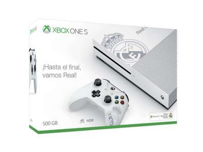 Microsoft calienta la llegada de la Navidad con una edición especial de la Xbox One S del Real Madrid