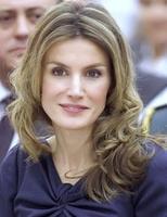 La raya en zig zag de la princesa Letizia