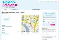 AirBed & Breakfast, compartiendo alojamiento en eventos
